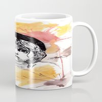 les miserables Mugs featuring Les Miserables by Taylor Starnes