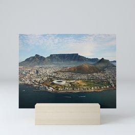 Cape Town aerial view II Mini Art Print