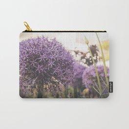 purple decorative garlic Carry-All Pouch