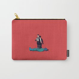 Over my dead body Carry-All Pouch
