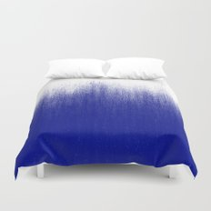 Ink Blue Ombré Duvet Cover