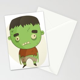 Creepy And Cute Halloween Character Stationery Cards