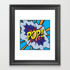 POP Art 4 Framed Art Print