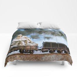 Pietà Train Comforters