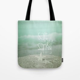 SALT &  SAND Tote Bag