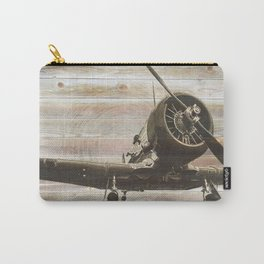 Old airplane 2 Carry-All Pouch