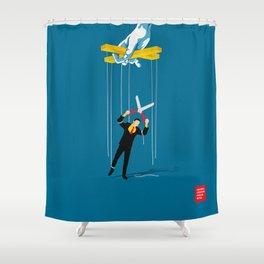 Cut The Strings Shower Curtain
