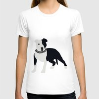 bull terrier T-shirts featuring Staffordshire Bull Terrier by ialbert
