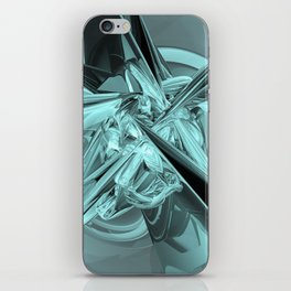 Turquoise Reflections iPhone Skin