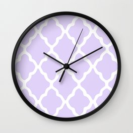 White Rombs #5 The Best Wallpaper Wall Clock
