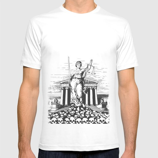 The Skulls of Justice T-shirt