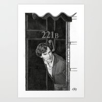 221b Art Prints featuring 221b by Alessia Pelonzi