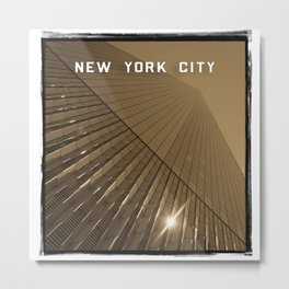 World Trade Center Reborn - New York City Metal Print