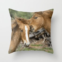 A Little Playtime Throw Pillow