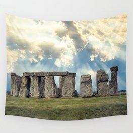 Stonehenge V Wall Tapestry