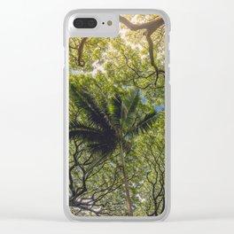Jungle Canopy Clear iPhone Case