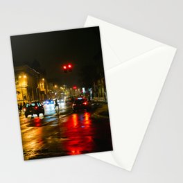 Subotica streets Stationery Cards