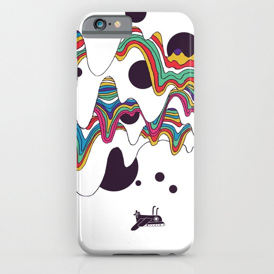 Psychedelic Planet iPhone & iPod Case