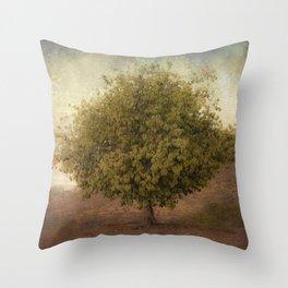 Whimsical Tree Throw Pillow