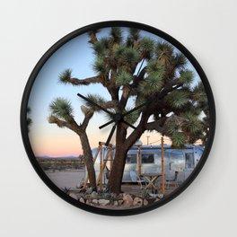 Airstream, Joshua Tree Acres 3 Wall Clock