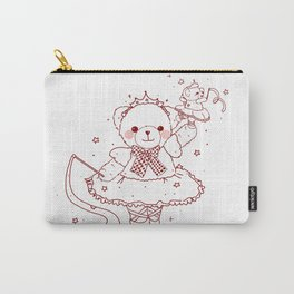The Adventures of Bear and Baby Bear-Prima Ballerina Carry-All Pouch