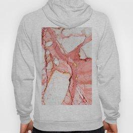 Pink Marble Hoody