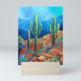 Saguaro Trio Mini Art Print