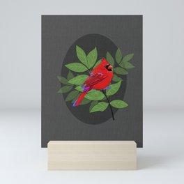 Red Cardinal Wall Print Mini Art Print