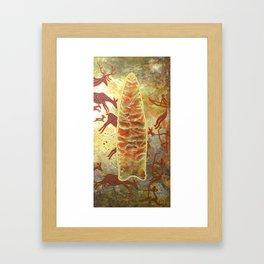 Clovis Spearhead Framed Art Print