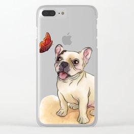 Auggie Clear iPhone Case