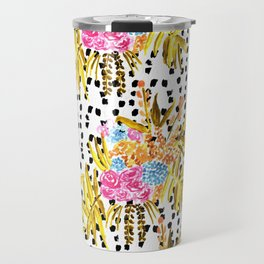 Patterned Bouquet II Travel Mug