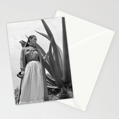 Frida Kahlo Photo with Agave Plant for Vogue Stationery Cards