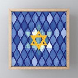 Jewish Celebration Framed Mini Art Print
