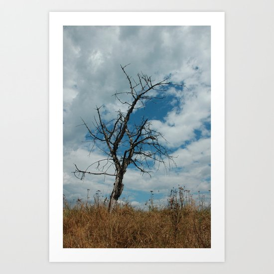 loneliness is temporary Art Print