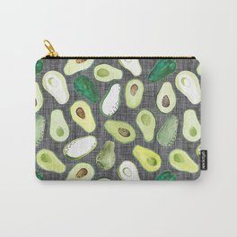 Avocados - Ash Grey Carry-All Pouch