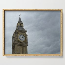 Elizabeth Tower (Big Ben Clock Tower) Serving Tray