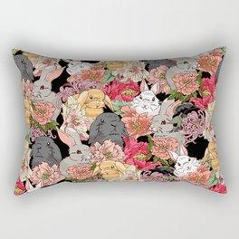 Because Bunnies Rectangular Pillow