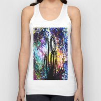 hydra Tank Tops featuring Hydra Distort by blCub