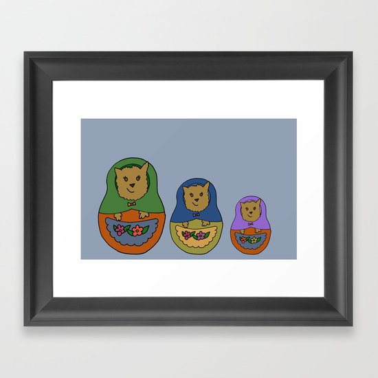 Piptroyshkas Framed Art Print