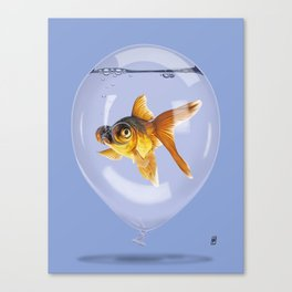 Inflated (Colour) Canvas Print