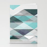 nordic Stationery Cards featuring Nordic Combination 1 X by Mareike Böhmer