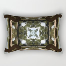 Earth Convergence Rectangular Pillow