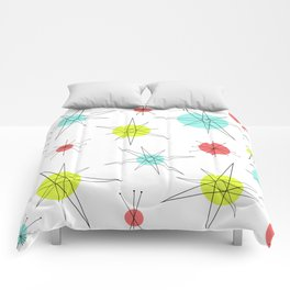 Atomic Age Colorful Planets Comforters