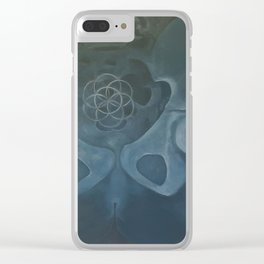 Seed of life Clear iPhone Case