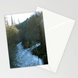 Rushing waters at Salt creek.... Stationery Cards