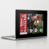 gravity falls Laptop & iPad Skins featuring Tales from Gravity Falls by Jelly Soup Studios