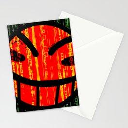 Cowboy Bebop Hacked Smile Stationery Cards
