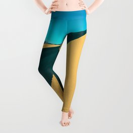 death valley line and flow Leggings