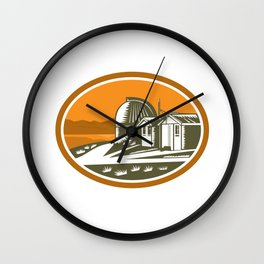 Mt John University Observatory Retro Wall Clock