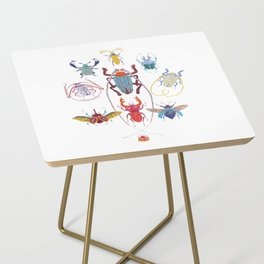 Stitches: Bugs Side Table